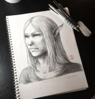 Realism sketch of Anor
