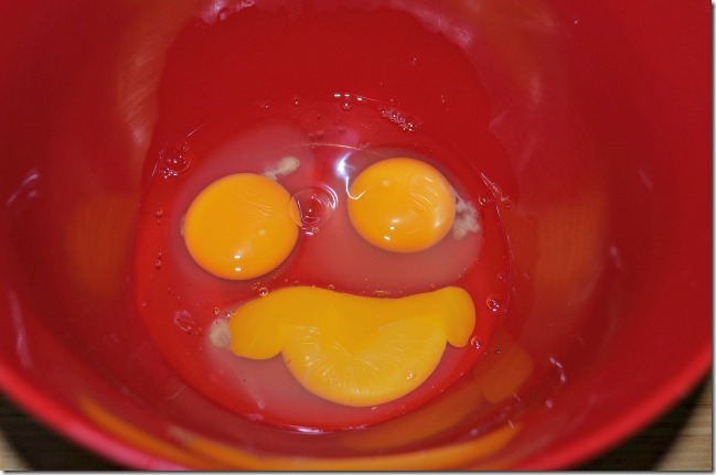 smiley eggs