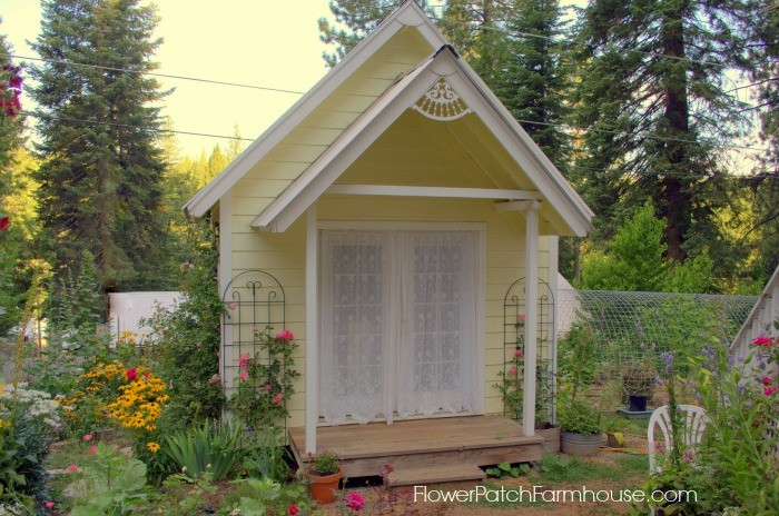 Wonderful Building my She Shed - Flower Patch Farmhouse AI13