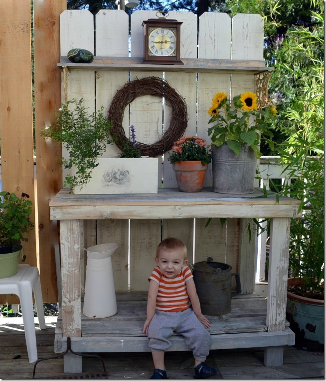 fall potting bench 2013