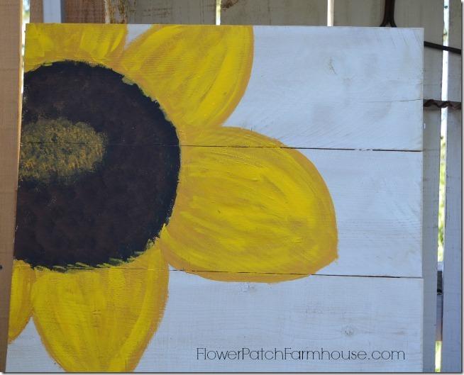 paint a sunflower tutorial 13