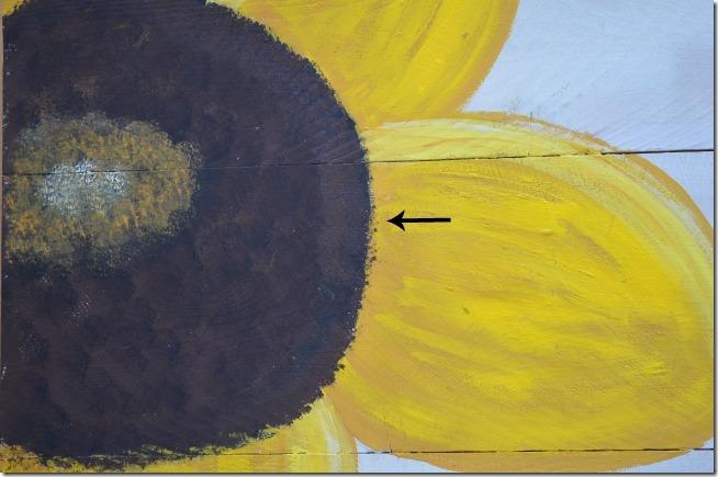 Paint A Sunflower Tutorial 19