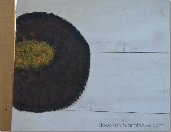paint a sunflower tutorial 8