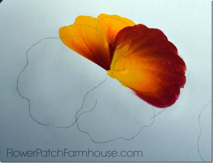 Learn to paint a pansy one stroke at a time flower patch for How to learn to paint