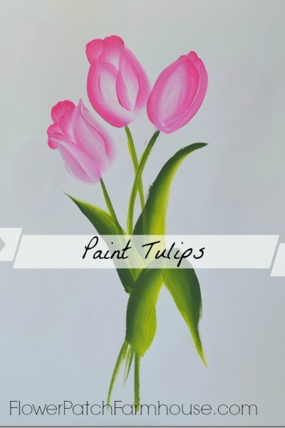 learn to paint tulips