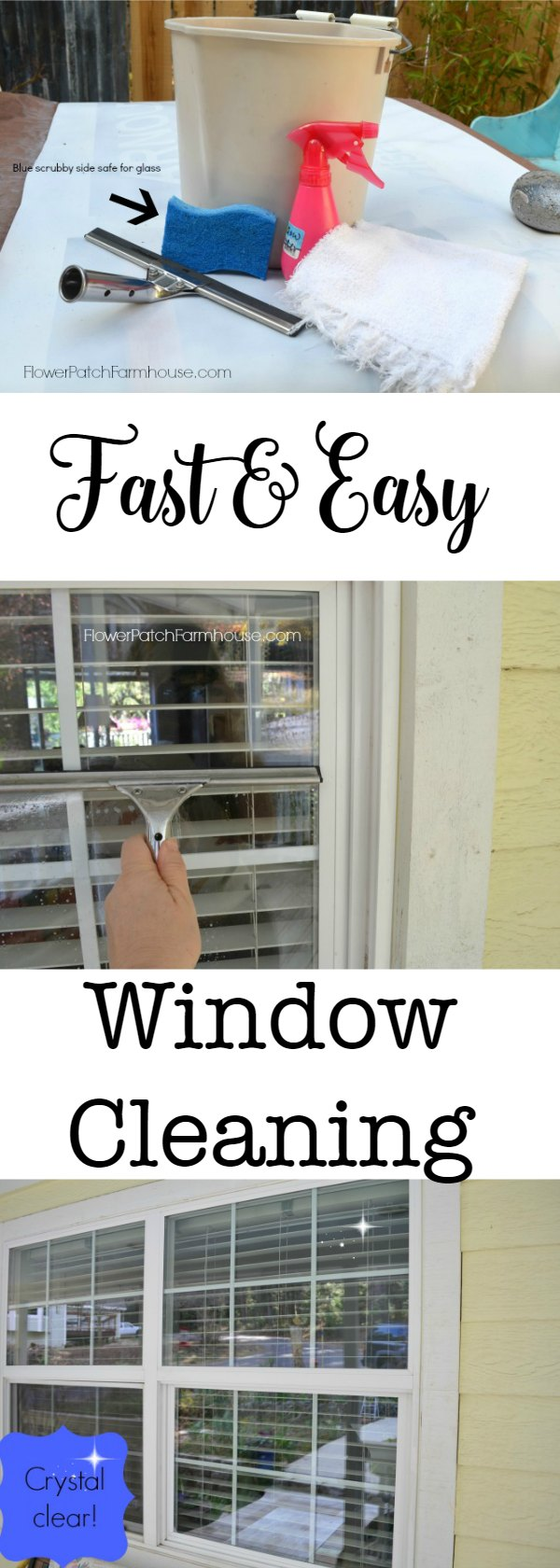 Window Cleaning Tips from a Pro, as a retired house cleaner I have tried many methods of cleaning windows. This is by far the fastest and easiest I used.