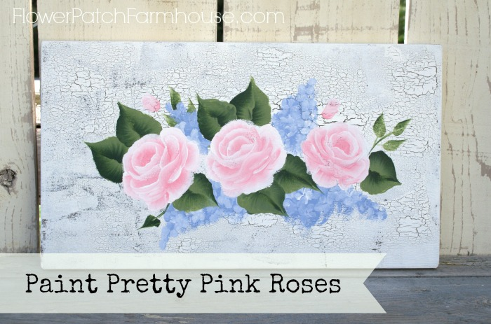 Paint Pink Roses