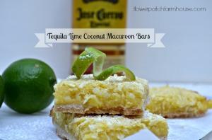 Tequila Lime bars, FlowerPatchFarmhouse.com