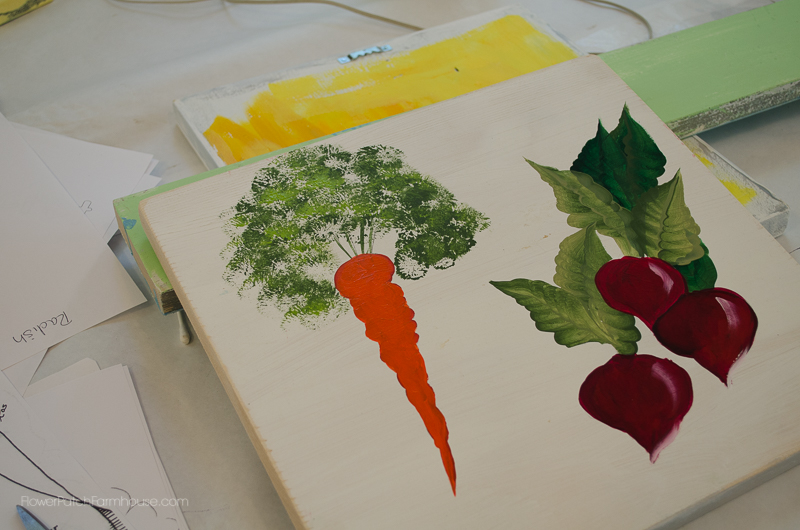 Radish & Carrot Painting, FlowerPatchFarmhouse.com (30 of 36)