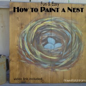 Learn to Paint a Nest Fast and Easy