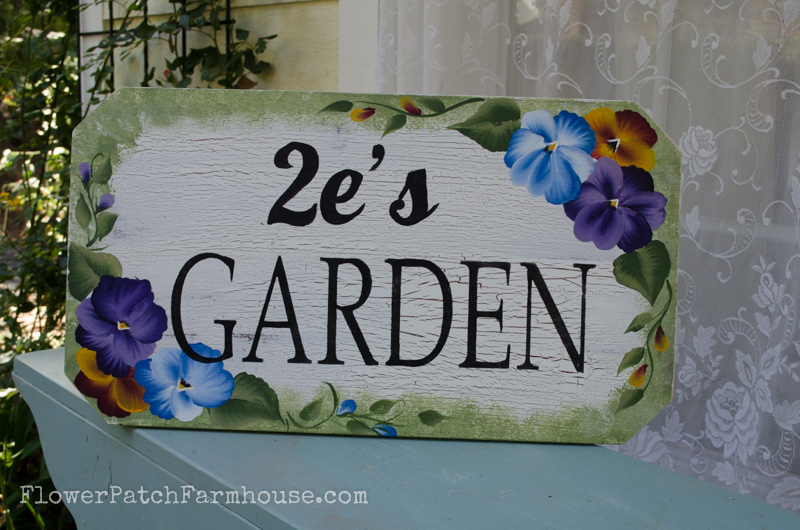 Pansy Garden sign, FlowerPatchFarmhouse.com (4 of 29)