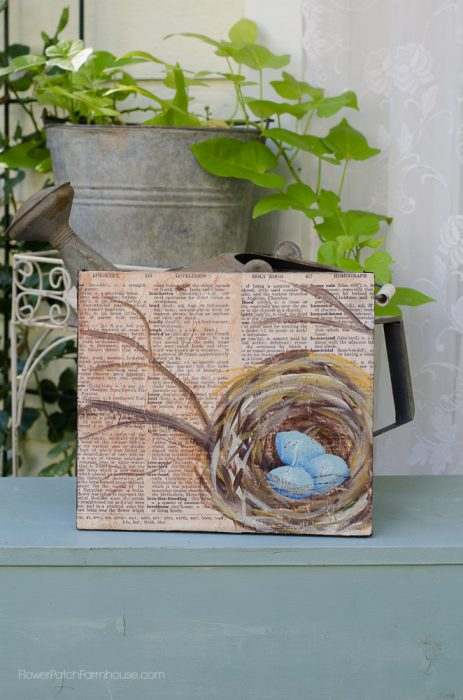 nest on bookpage, flowerpatchfarmhouse.com (2 of 6)
