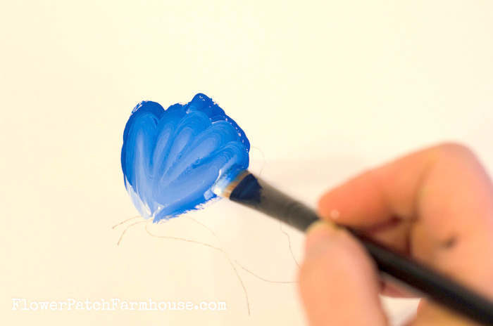 How to Paint a Fun and Simple Butterfly, FlowerPatchFarmhouse.com