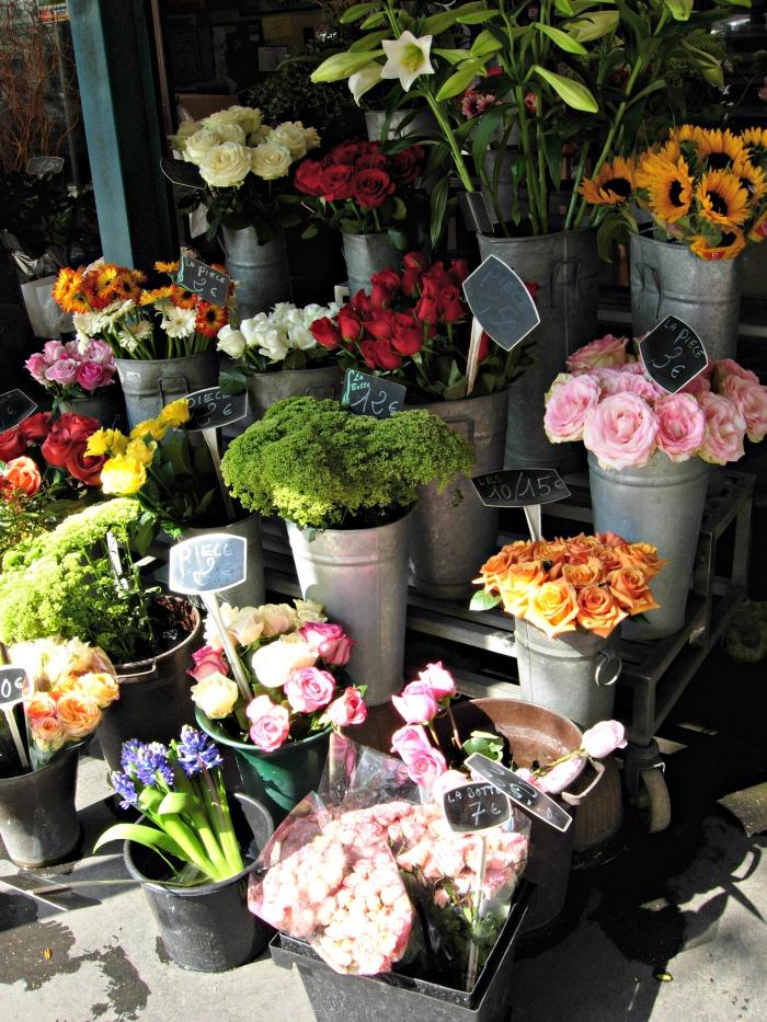 Bouquets in Paris, FlowerPatchFarmhouse.com