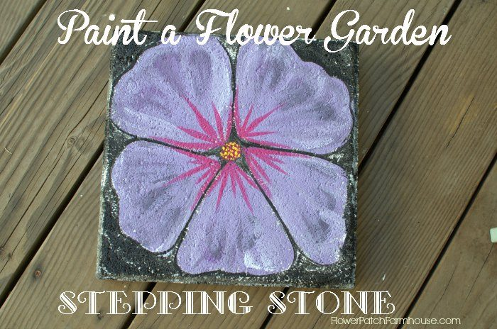 Paint a Flower Garden, Stepping Stone