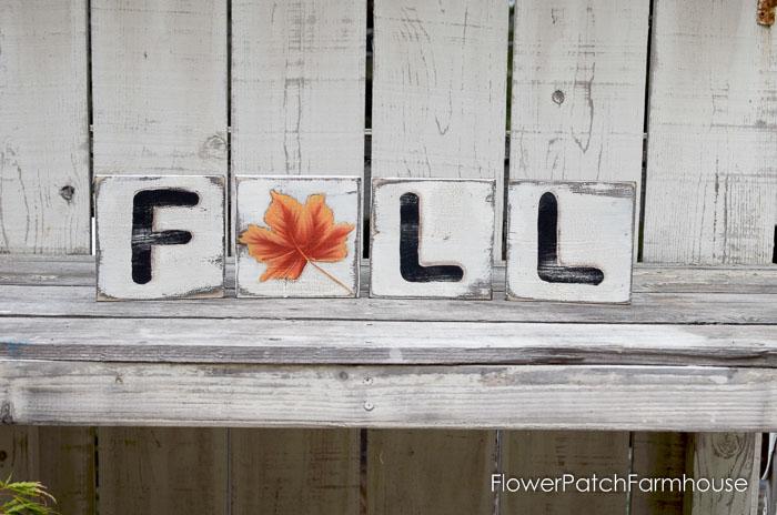 DIY Fall Scrabble Tiles on Scrap Wood, FlowerPatchFarmhouse.com-0084