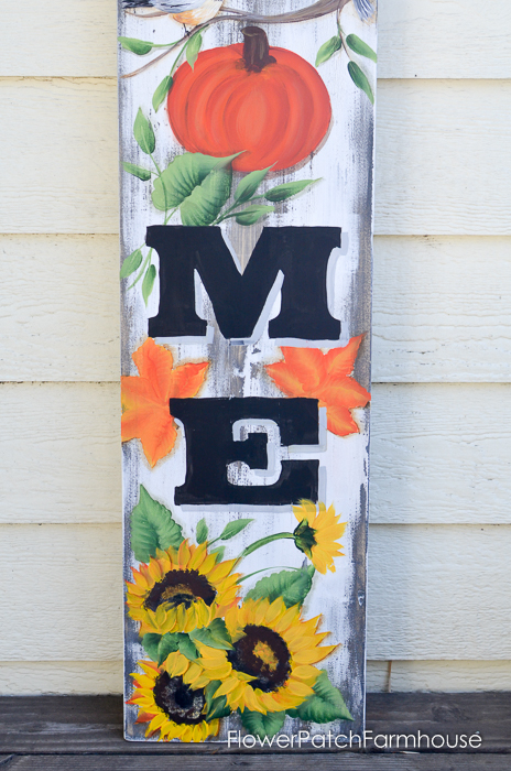 Large Fall Welcome sign, FlowerPatchFarmhouse.com (7 of 7)