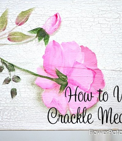 How to Use Crackle Medium