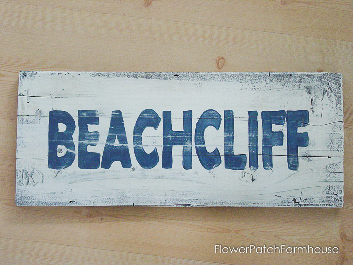 Coastal Beach Signs