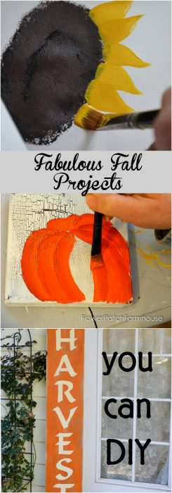 Fall is a fabulous time to decorate, so many rich colors and fun things to do! Create many Fall inspired projects with these easy tutorials and patterns! Easy enough for beginners.