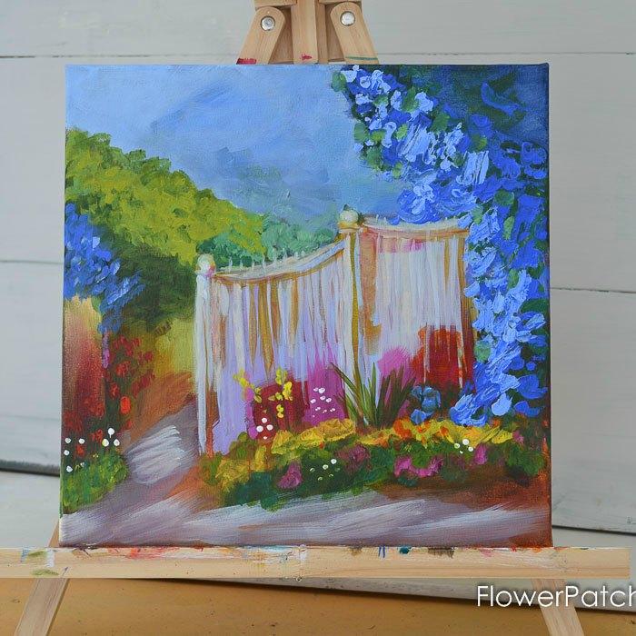 Garden Fence, paint away the winter blues.