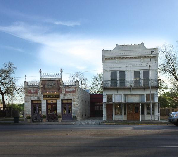 visit to Fredericksburg Texas, downtown