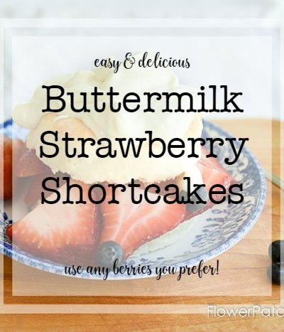 Buttermilk Strawberry Shortcakes