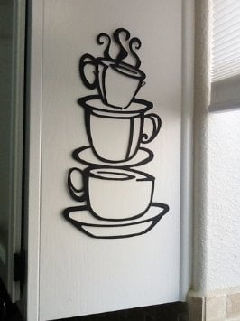 Awesome Black Wrought Iron Wall Decor