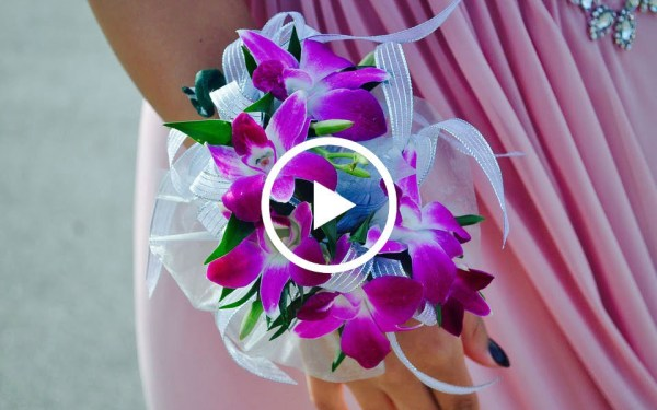 create prom flowers