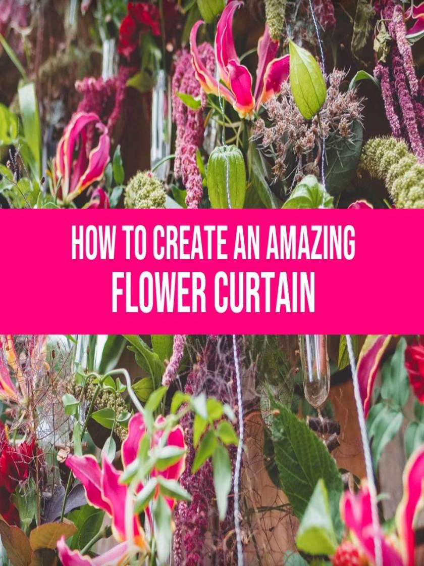 flower curtain