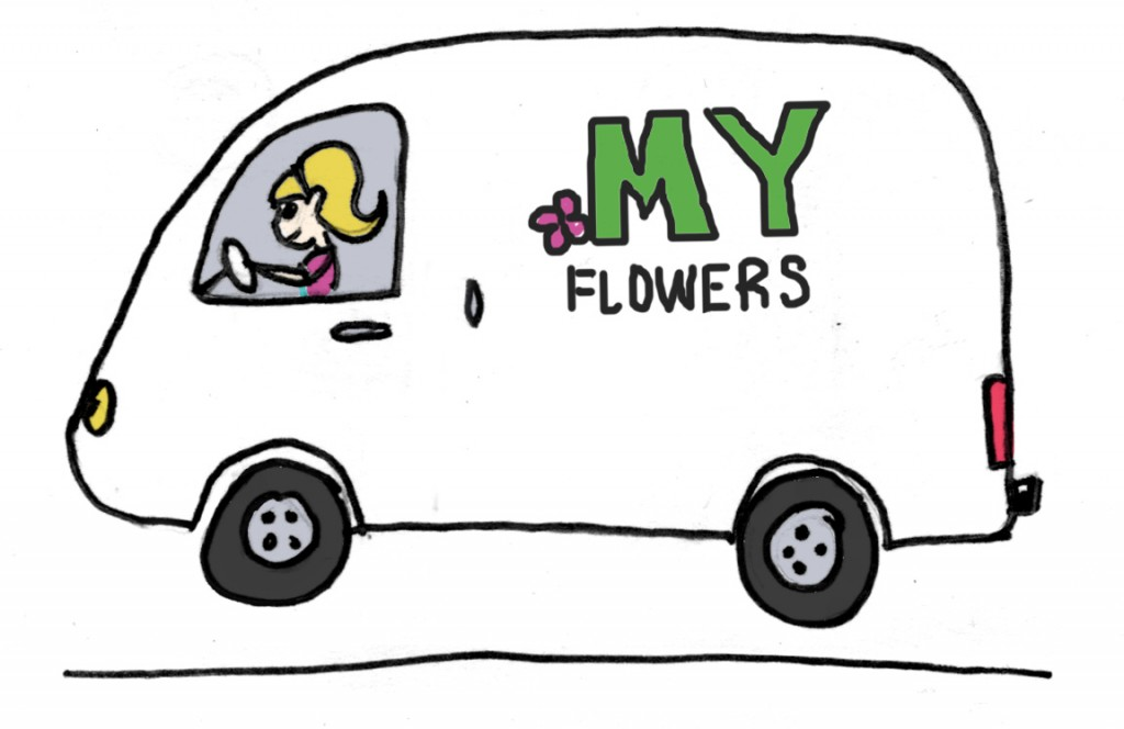 Cartoon Refrigerated Truck