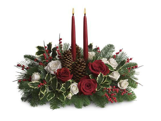 Christmas Wishes Centerpiece T127 1A 5576