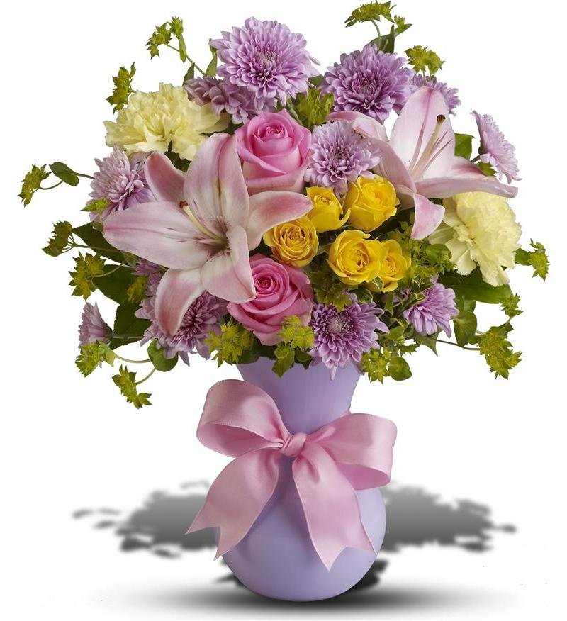 Perfectly Pastel Bouquet TFWEB605 4226