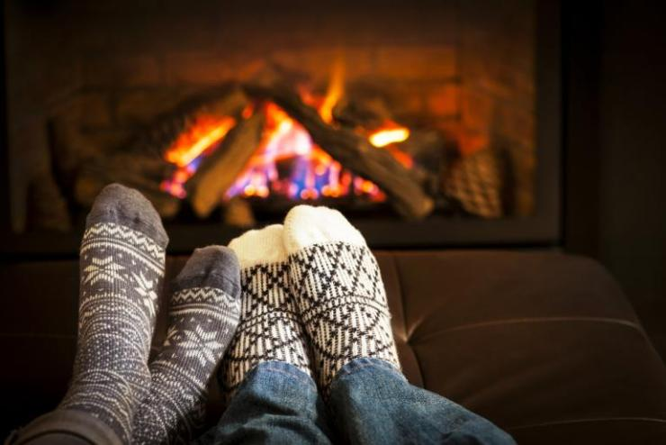 Image result for romantic couple in cabin at night