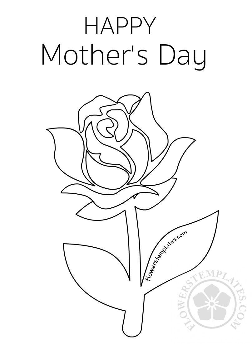 Free Pictures Of Roses To Color, Download Free Clip Art, Free Clip ... | 1103x807