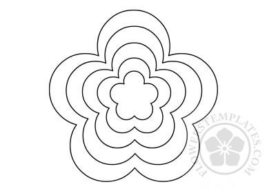 Spring Paper flower