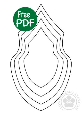It's just an image of Leaf Template Printable Free within leaf design