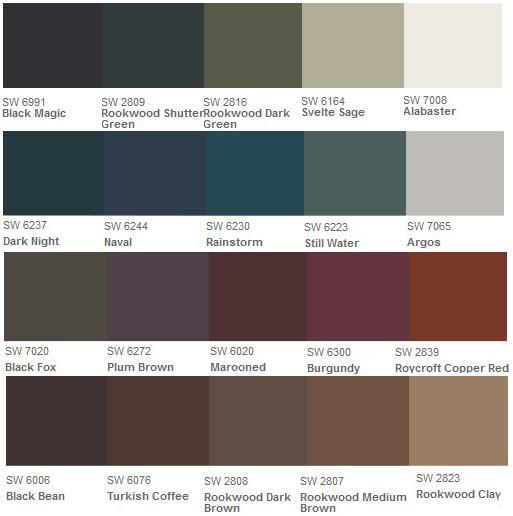 Vinyl Siding Color Chart