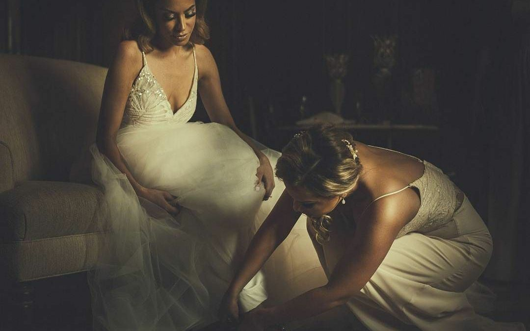 Surreal look from Wedding at The Skylands Manor