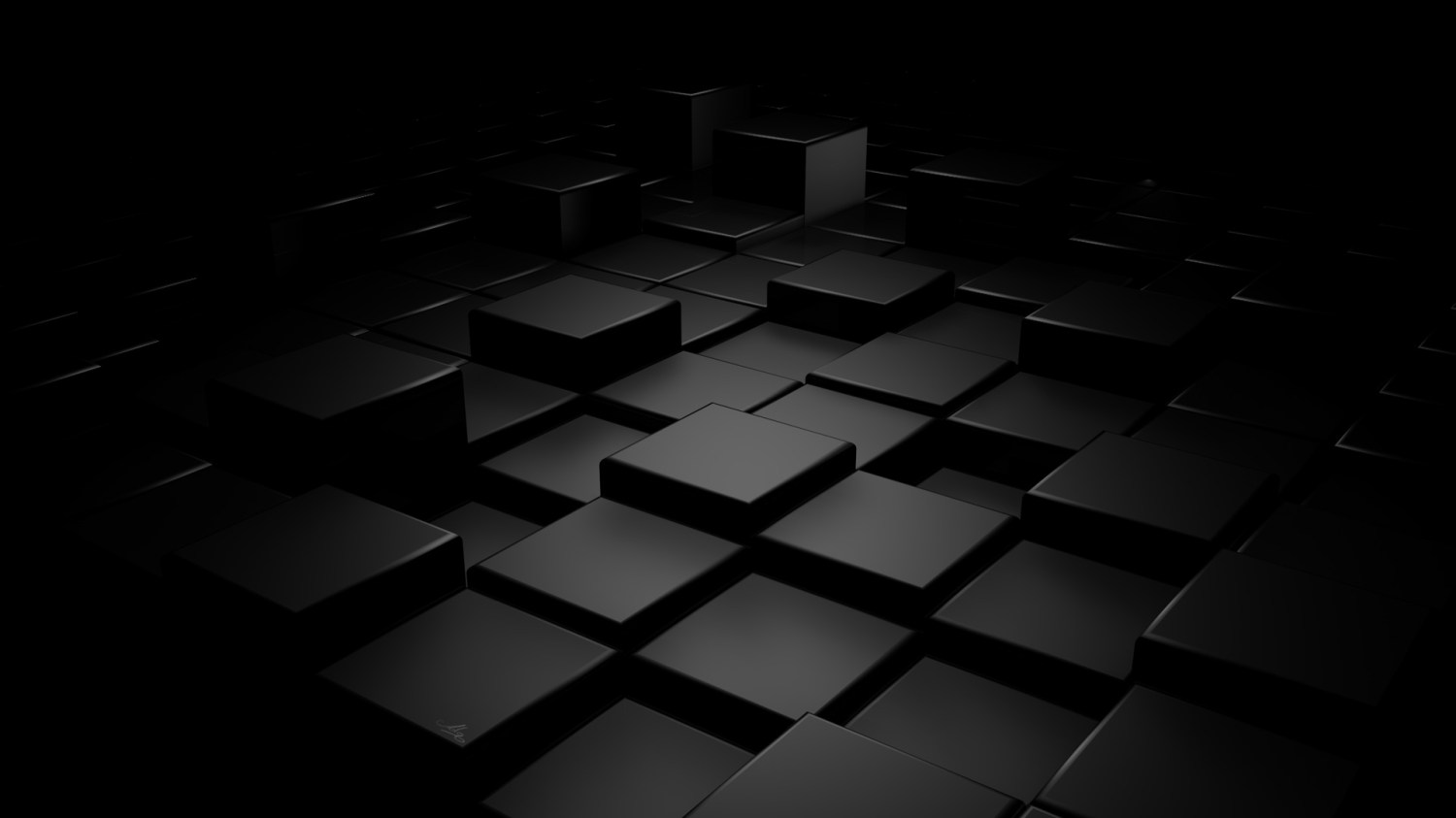 rendering-shapes-visualization-cubes-abstraction-figures-black-background