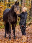 Eva en Ostara in het bos