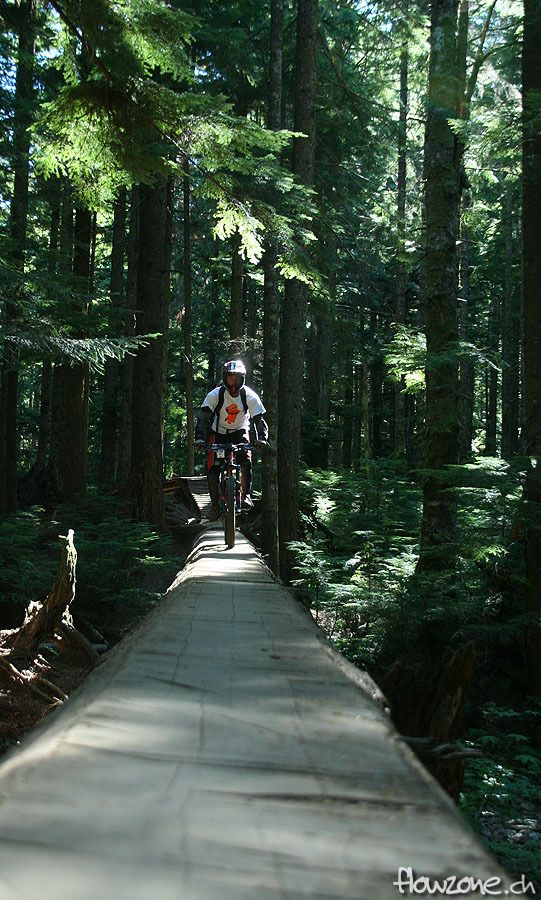 north vancouver mount seymour cbc millennium log mtb freeride