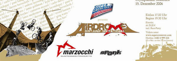 Airdrome - Marzocchi Airdrome this Weekend!