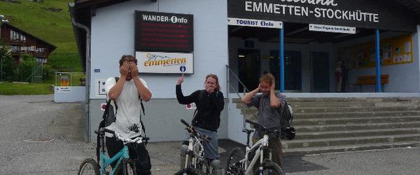 Bikepark Emmetten - No Go