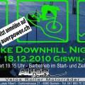 Snow Bike Downhill Night 2010 Flyer
