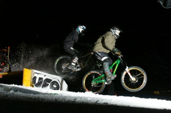 Snow Bike Downhill Night Mörlialp - Auer Power