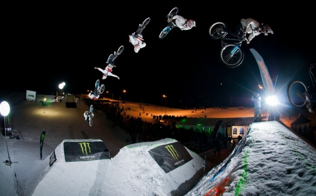 Monster Energy White Style 2012 Leogang
