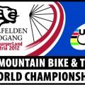UCI Mouintainbike Weltmeisterschaft 2012 - Logo Saalfelden/Leogang
