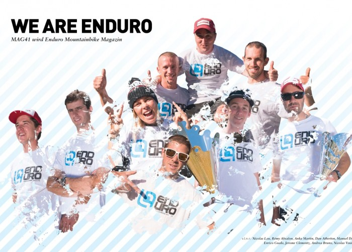 Enduro Mountainbike Magazin Mag41 Team