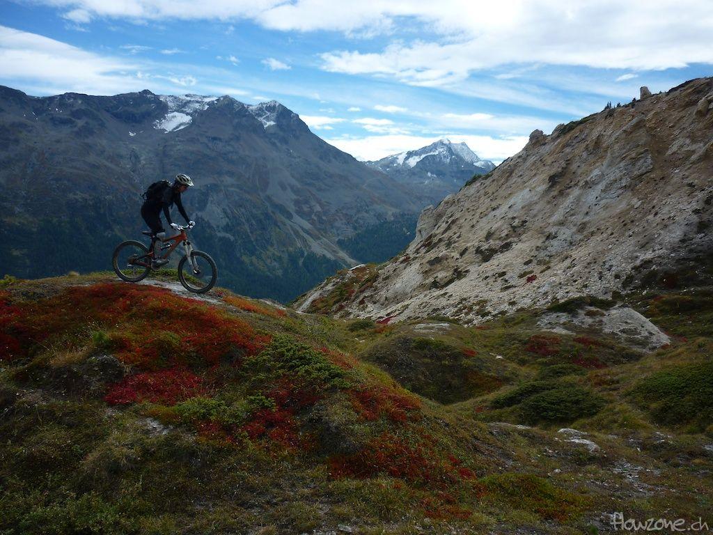 Bikeparks Schweiz - Engadin Corviglia